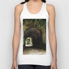 Old tunnel 2 Unisex Tank Top