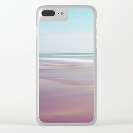 Sea waves 5 Clear iPhone Case