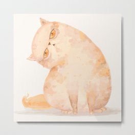 cat_a Metal Print