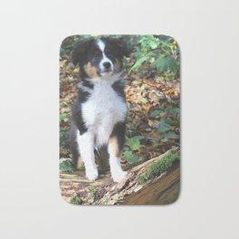 Australian Shepherd Puppy Bath Mat