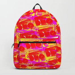 Boombox Pattern Backpack