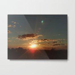 Australian Sunrise Metal Print