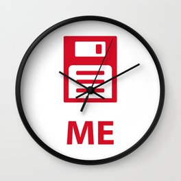 Save me tech style Wall Clock