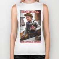 hannibal Biker Tanks featuring HANNIBAL by Gart Graphisme