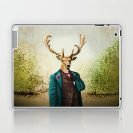Lord Staghorne in the wood Laptop & iPad Skin
