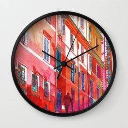 Hotel in Rome Wall Clock