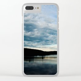 Fish-Eye Clouds 2 Clear iPhone Case