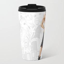 Portgas D. Ace Artwork Travel Mug