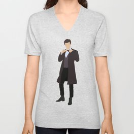 Eleventh Doctor: Matt Smith Unisex V-Neck