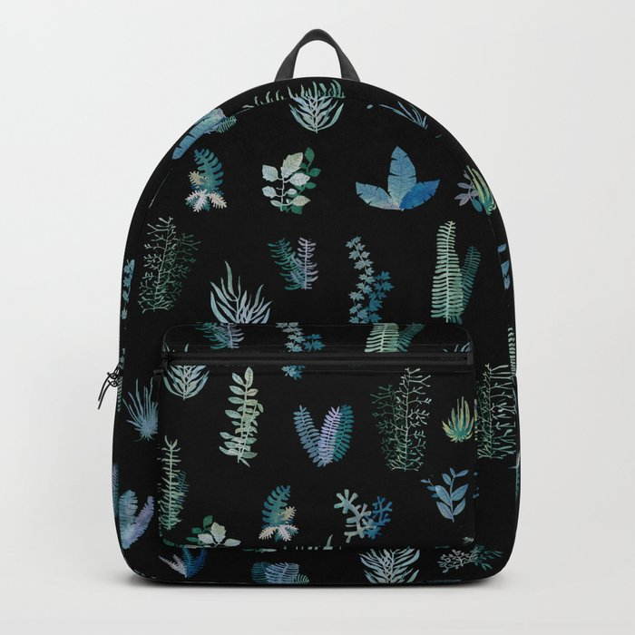 Cold Garden at Night Backpack