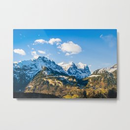 Switzerland Wonder Metal Print