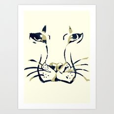 King of Beasts Art Print