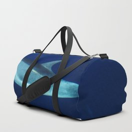 Dolphin, blue and sea Duffle Bag