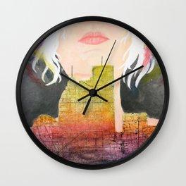 Constructing Dreams Wall Clock