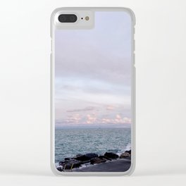 Lake Michigan, Late Summer at Dusk Clear iPhone Case