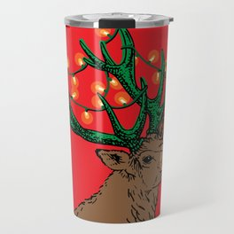 Rudolph With Your Nose So Bright Travel Mug