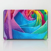 rose iPad Cases featuring Rose  by Aloke Design