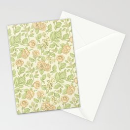 Vintage Blossoms 3 Stationery Cards