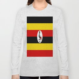 Flag of Ugandan Long Sleeve T-shirt