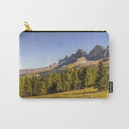 Panoramic view in the Dolomites Carry-All Pouch