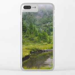Pond of the False Prophet Clear iPhone Case