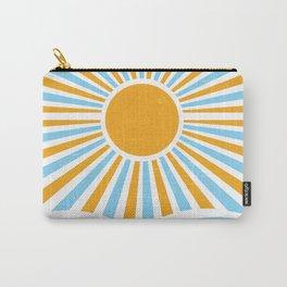 Retro Sun 70s Vintage Sun Carry-All Pouch