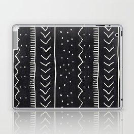 Moroccan Stripe in Black and White Laptop & iPad Skin