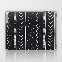 Moroccan Stripe in Black and White Laptop & iPad Skin