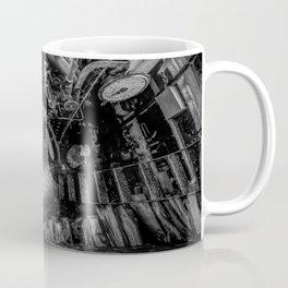 The Paddle Steamer Fireman (black & white) Coffee Mug