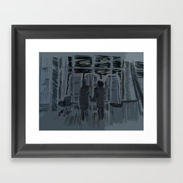You Met Me At A Very Strange Time In My Life Framed Art Print