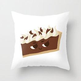 Baby Cakes - French Silk Pie Throw Pillow