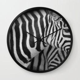 Stripes in a line... Wall Clock