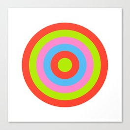 Target IX Canvas Print
