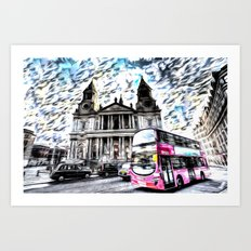 London Classic Art Art Print