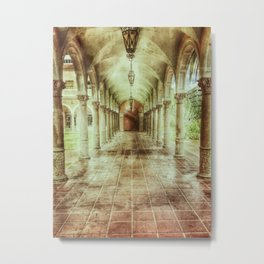 Courtly Metal Print