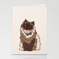 finn Stationery Cards featuring Finn by Faryn Hughes