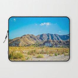 Beautiful mountain scenery desert in Andalucia, Spain Laptop Sleeve