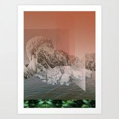 atmosphere 17 · Such a Blast Art Print