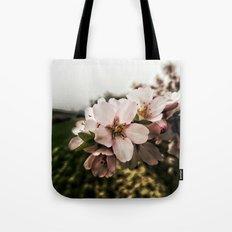 Flor de Almendro Tote Bag