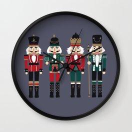 Nutcracker Wall Clock