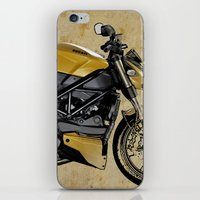 ducati iPhone & iPod Skins featuring Ducati Streetfighter 848, 2012 by Larsson Stevensem