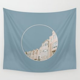 In Bluer Skies Wall Tapestry