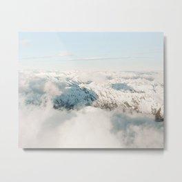 Above The Cloud Metal Print
