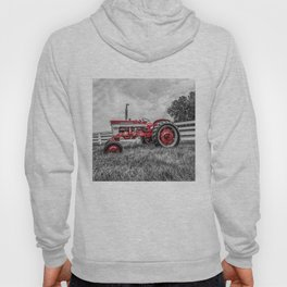 IH 240 Side View Selective Red Farmall Tractor Hoody