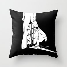 Vision of you Throw Pillow
