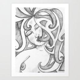 Kissable Nip Art Print