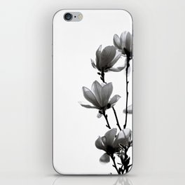 BLACK MAGNOLIA iPhone Skin