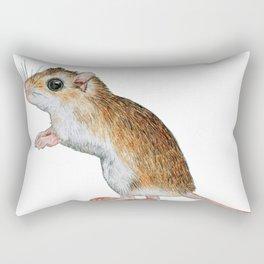 Little Mouse Friend Rectangular Pillow