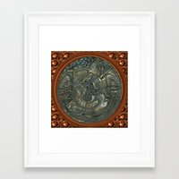 portal Framed Art Prints featuring Portal by DesignsByMarly