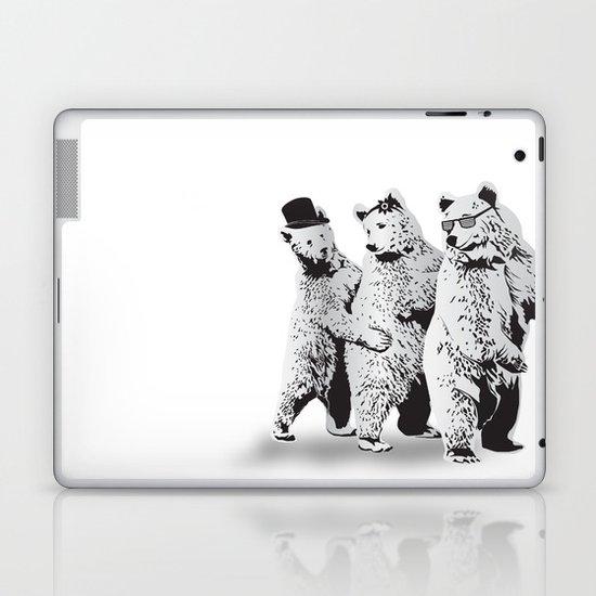 Funky Bears Laptop & iPad Skin